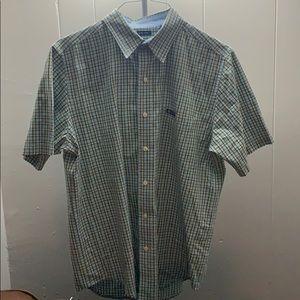 Chaps Shirts - Chaps  Casual Short Sleeve Dress Shirt